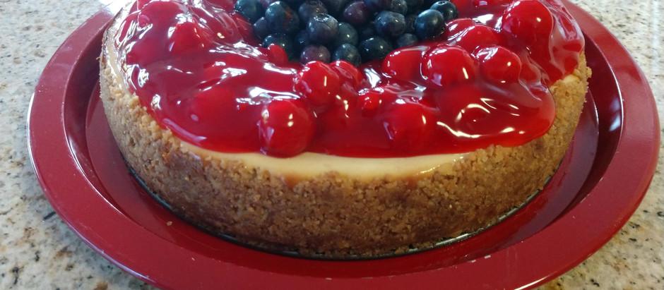 HONEY Cheesecake ~ YUM!