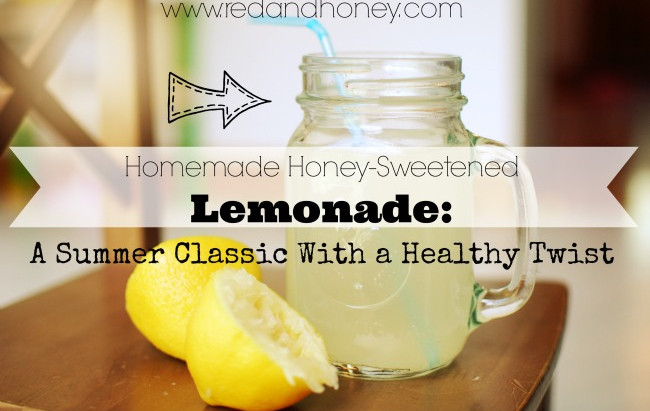 Homemade Honey-Sweetened Lemonade