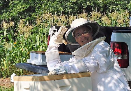 Becoming a beekeeper, Susan Marie's Bees, Keowee Bee