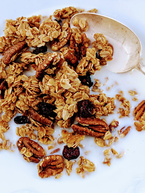Cranberry Orange Pecan Granola