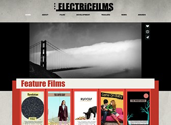 Indie Film Company Website Template | WIX