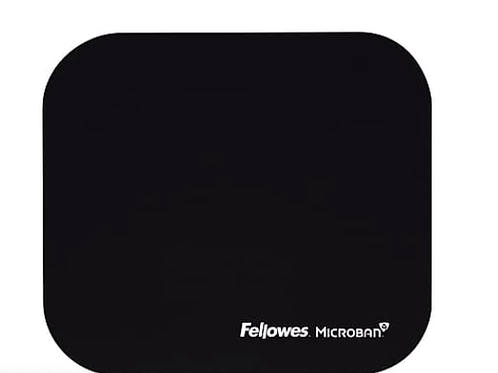 Fellowes Microban Mouse Pad, Black