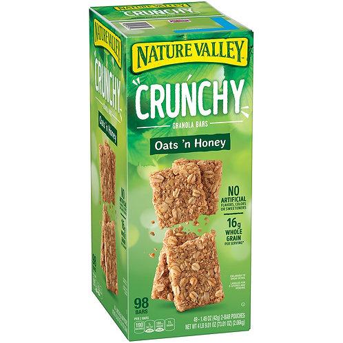 Nature Valley Oats 'n Honey Crunchy Granola Bars (0.75 oz., 98 pk.)