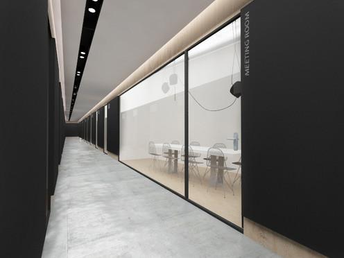 Office Corridor, Rehovot