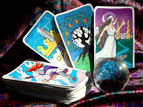 1 Month Bundle - 1 Tarot Reading per week for a Month