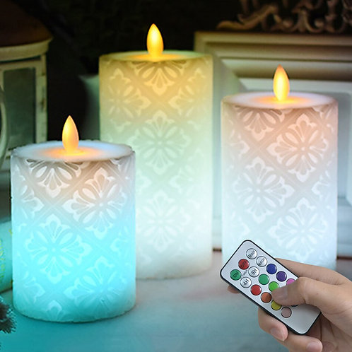 Wireless Remote Led Candle With Dancing Flame
