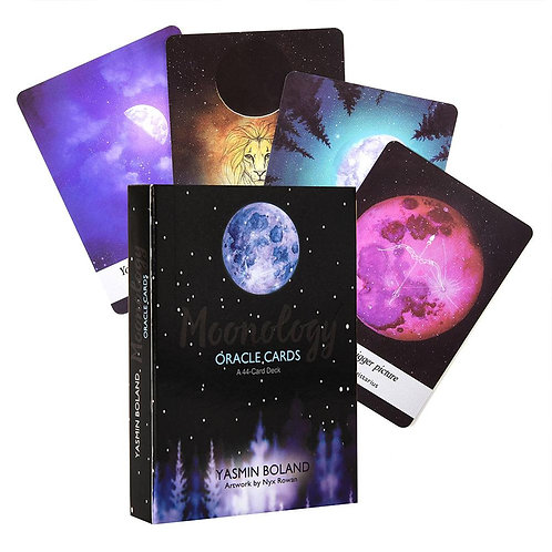 44 Cards Set Moonology Oracle Cards