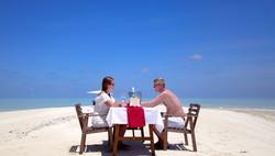 Lunch on a Sandbank