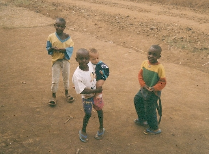 Village children, Tombel, Cameroon