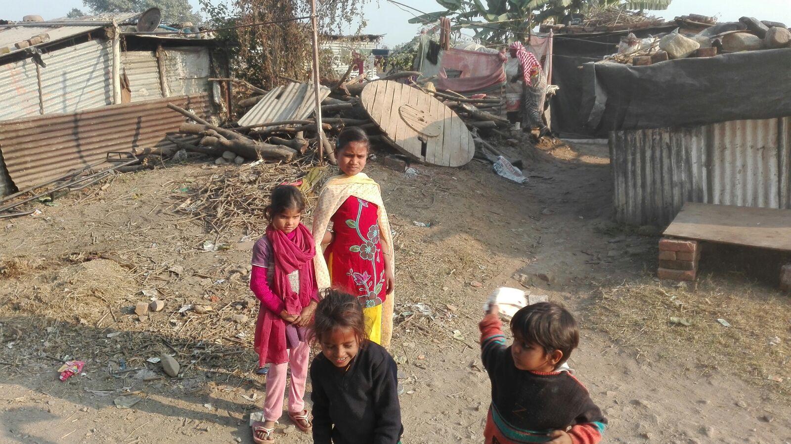 Slum, Dehradun, India