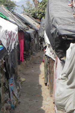 Slum, Rishikesh, India