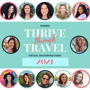 2021 Women Thrive Through Travel MasterFind Virtual Event