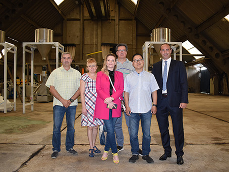 Local government visit our facilities in Požarevac