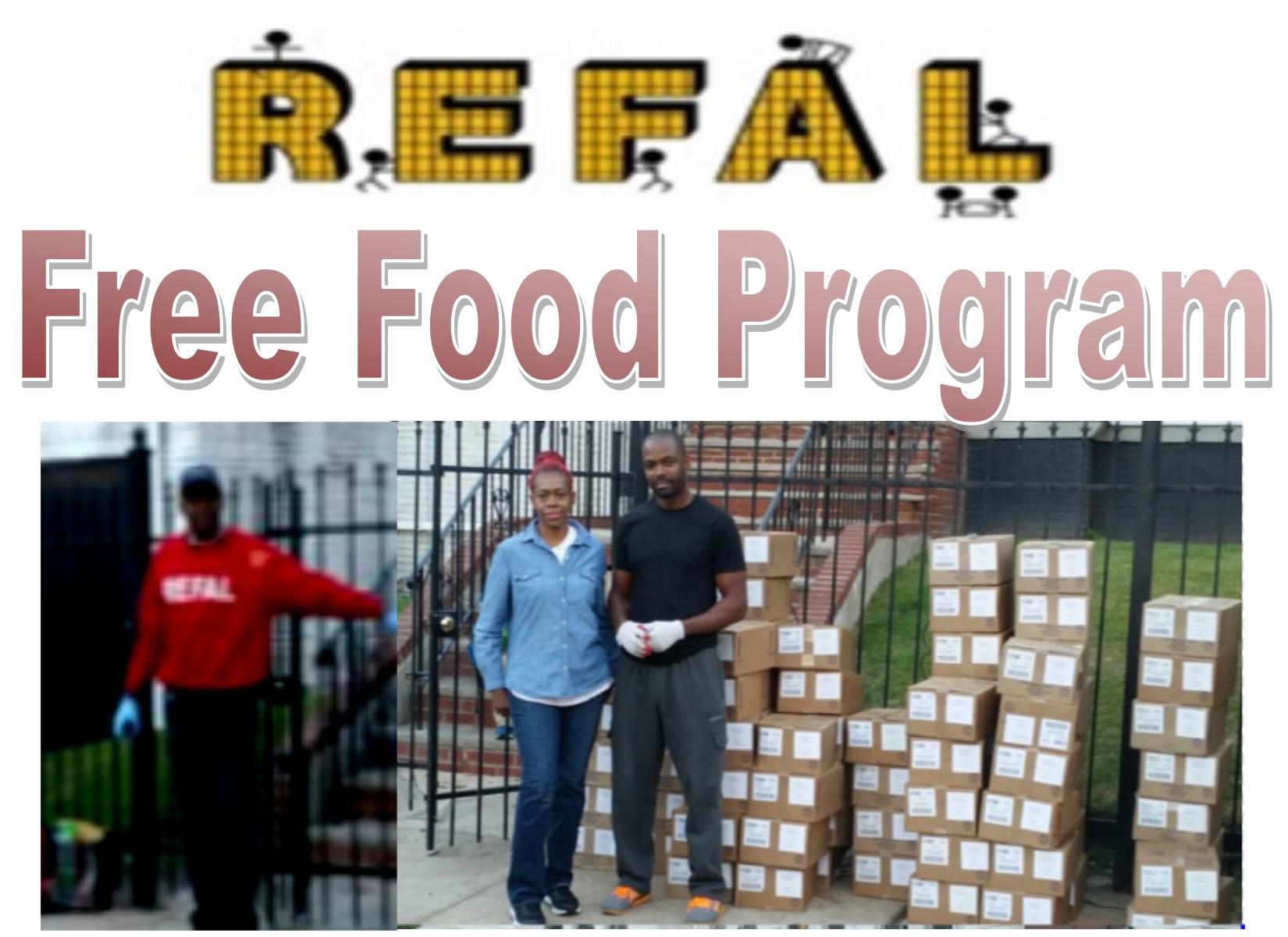 Free Food Program every 2 weeks
