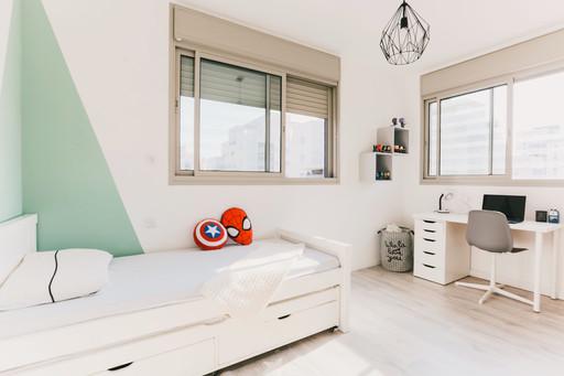 חדר ילד מעוצב