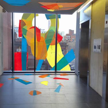 Manchester School of Art Installation