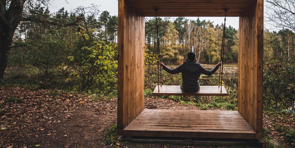 Poznawcze szlaki rekreacyjno - turystyczne leśnictwa Antoninek. Szlak nad Stawem Browarnym oraz szlak w dolinie Cybiny i Kaczeńca
