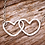 Thumbnail: Sterling Silver Entwined Heart Bracelet