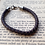 Thumbnail: Leather Bolo Bracelet Available in Brown, Black or Pink