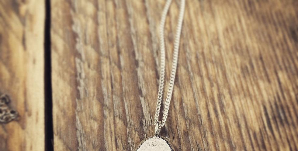 Sterling Silver Botanical Necklace