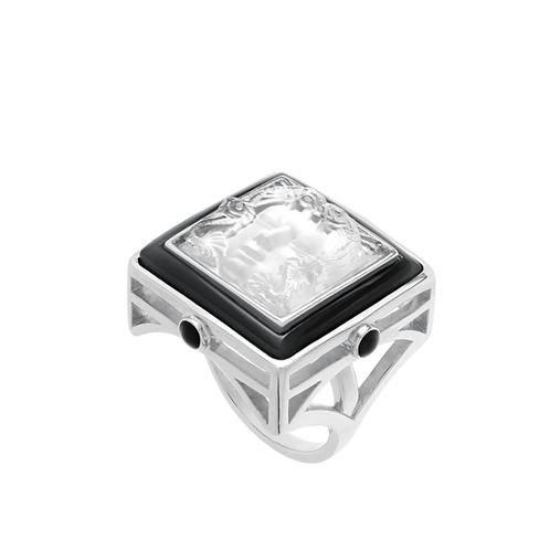 Lalique Anel Prata Arethuse Black