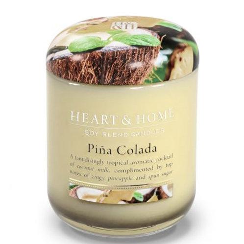 Heart & Home Vela Perfumada Piña Colada 340g