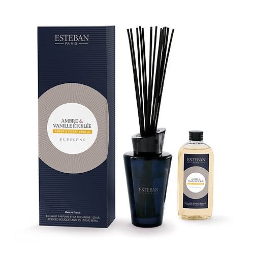 Esteban Difusor Fragrância  Amber & Starry Vanilla 150ml