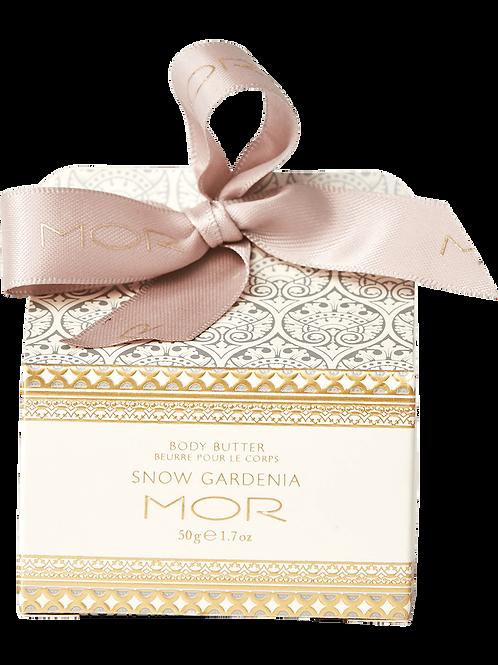 MOR Body Butter Snow Gardenia 50g