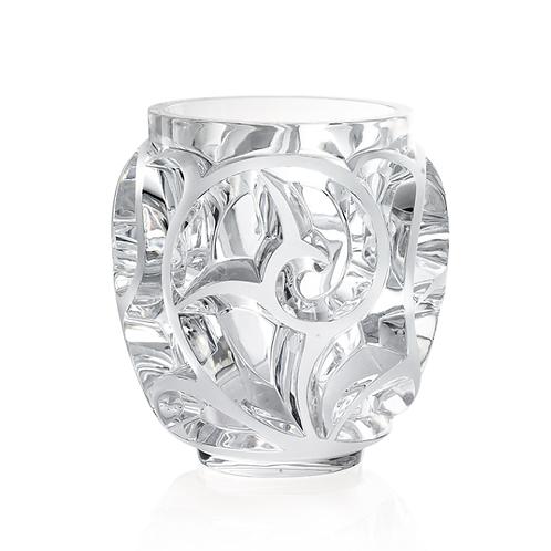 Lalique Vaso Pequeno Tourbillons Cristal Claro