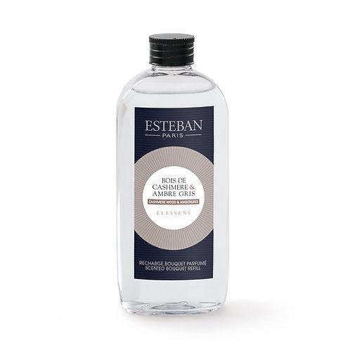 Esteban Recarga Difusor Fragrância Cashmere Wood & Ambergris 150ml