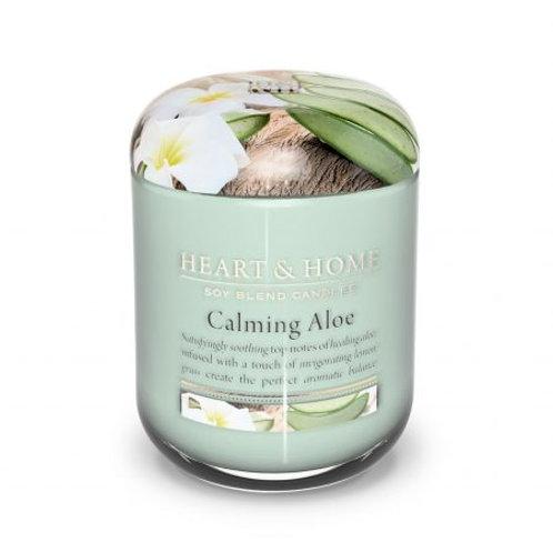 Heart & Home Vela Perfumada Aloe Calmante 115g