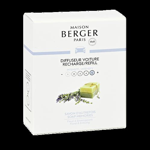 Maison Berger Recarga Difusor Automóvel Soap Memories
