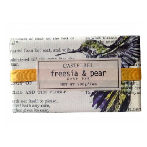 Castelbel Sabonete Spring Ribbon Freesia & Pear 200g