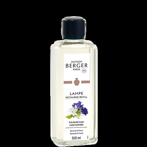 Maison Berger Recarga Lamparina Musk Flowers 500ml