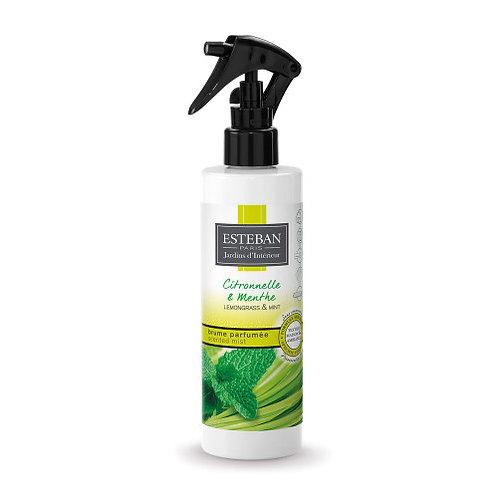 Esteban Spray Mist Lemongrass & Mint 250ml
