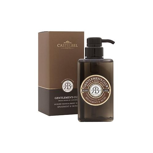 Castelbel Hand & Body Wash Gentlemen's Club Hortelã e Musgo 450ml