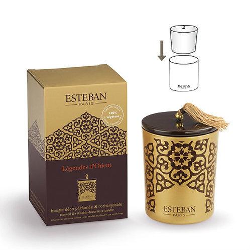 Esteban Vela Perfumada Recarregável Legendes d'Orient 170g