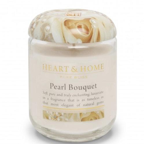 Heart & Home Vela Perfumada Bouquet de Pérolas 340g