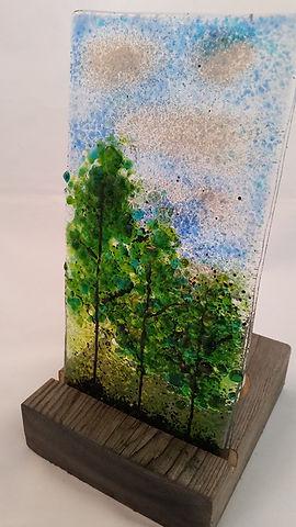 Memorial Art Glass, Cremation Keepsake