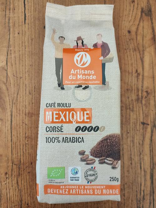 Café Mexique moulu - sachet 250 g