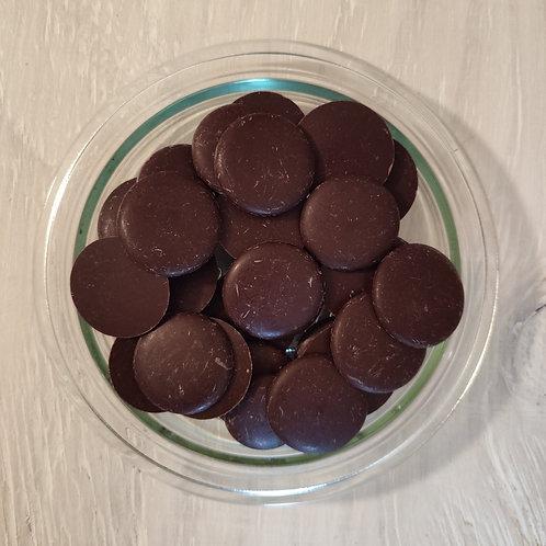 Palets de chocolat noir 74% - 100 g