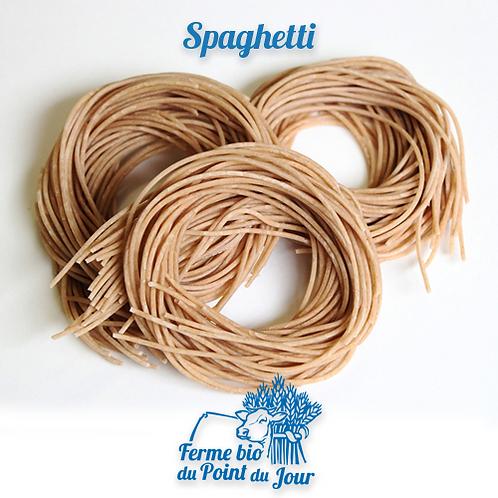Spaghetti au blé ancien (demi complet) - 250 g