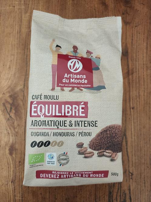 Café Équilibré moulu - sachet 500 g