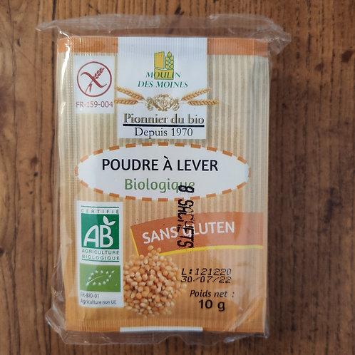 Levure sans gluten 8 x 10 g