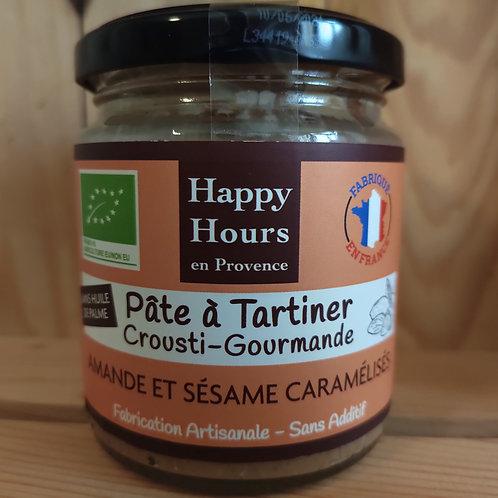 Pâte à tartiner amande sésame - 240 g