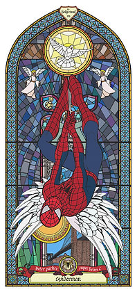 Spidreman - Peter Parker, Star wars from Gary John Jones digital artwork at Deep West Gallery