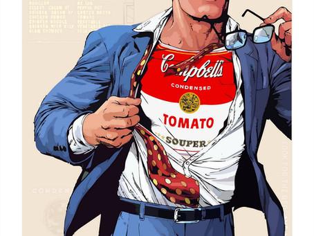 New sign in, Italian Pop Artist Tony Leone