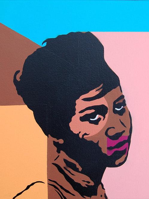 Soul Portrait, original painting