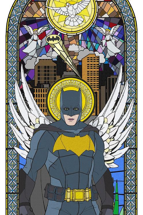 Batman - Bruce Wayne, Star wars from Gary John Jones digital artwork at Deep West Gallery