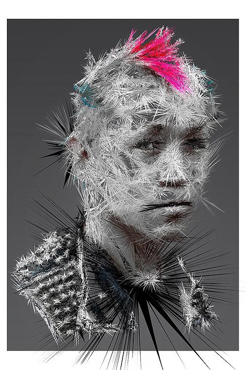 Mohok portrait, Digital art, urban artwork by Andrea Visconti at Deep West Gallery